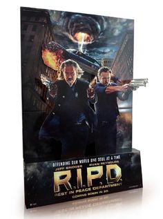 RIPD in cinema 3D standee.