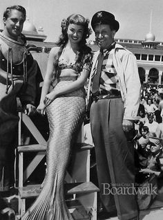 Mr. Peabody and the Mermaid, 1948 - Santa Cruz Beach Boardwalk Memories