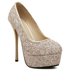 8b6c3a54f2 Stunning Sexy High Heel and Sequined Design Women s PumpsPumps