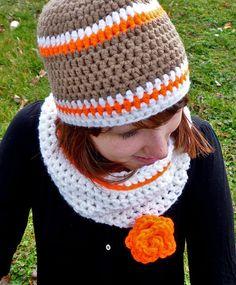 tuto pour crocheter un ensemble bonnet et snood avec la laine myboshi