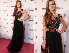 Marina Ruy Barbosa no Prêmio Contigo! 2012 - vestido Patrícia Bonaldi