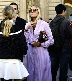 Nina Suess Paris Street Style 2016 by thehiddenclosets.com for FACES Magazin www.faces.ch