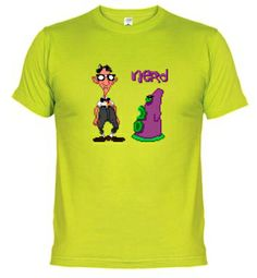 Tee shirt Day of the Tentacle: Nerd