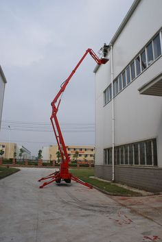 Spider Boom Lift 15m height--Zhengzhou Kbcrane Technology Co., Ltd.