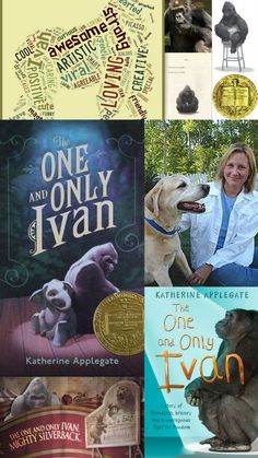 """The John Newbery Medal goes to """"The One and Only Ivan"""" written by Katherine Applegate.  LOVE THIS STORY!!!"""
