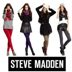 Steve Madden Women's Fleece-Lined Footless Leggings $5 + Free Shipping