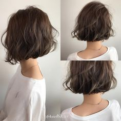 80 Bob Hairstyles To Give You All The Short Hair Inspiration - Hairstyles Trends Messy Short Hair, Short Hair Cuts, Messy Bob Hairstyles, Girl Hairstyles, Bobs For Thin Hair, Hair Trends, Curly Hair Styles, Hair Beauty, Girls