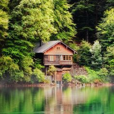 1. Go Small Rent a cabin that's a little too cozy. It forces you to talk, play card games, stare at the lake. You'll be surprised at the con...