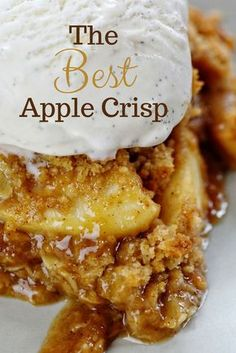 This special Apple Crisp packs MORE flavor and MORE punch than every other recipe! Find out what makes it amazing! Apple Crisp Best Apple Crisp Homemade Apple Crisp Secret Ingredient Apple Crisp How to Make Apple Crisp Easy Apple Crisp applecrisp Desserts Homemade Apple Crisp, Apple Crisp Easy, Apple Crisp Recipes, Best Apple Crisp Recipe, Caramel Apple Crisp, Apple Cobbler Easy, Best Apple Recipes, Apple Crisp Pie, Apple Crisp Healthy