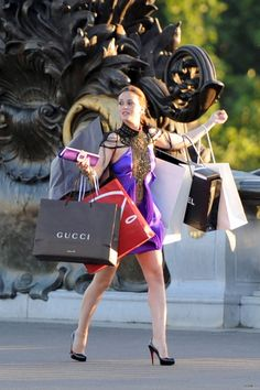 omg...I think this must've been what I looked like when I lived in Manila and Cebu...always shopping =)