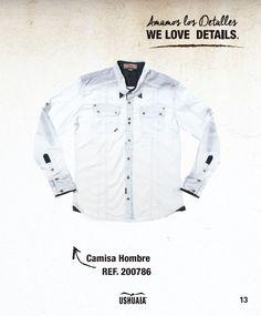 Camisa Hombre Ref 200786 Talla: S-M-L-XL