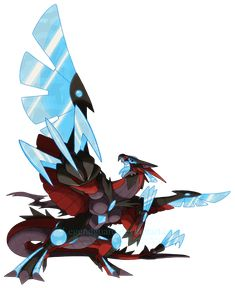 Eowenah Enraged Form [Being remade] by legendguard on DeviantArt Pokemon Fusion Art, Pokemon Fan Art, Cool Pokemon, Creature Concept Art, Creature Design, Fantasy Creatures, Mythical Creatures, Rayquaza Pokemon, Bulbasaur