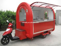 Electric Food Truck,Hot Dog Carts,Tuk Tuk Food Car - Buy Hot Dog Carts,Street…I always wanted my own cart! This would be perfect! Coffee Carts, Coffee Truck, Coffee Shop, Food Cart Design, Food Truck Design, Food Trucks, Hot Dog Wagen, Food Carts For Sale, Mobile Food Cart