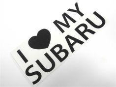 I Love My Subaru Sticker Decal StickerBomb JDM WRX Impreza Turbo 20G Boost Wagon #Subaru
