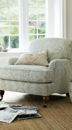 Downton Den Chair - traditional - chairs - other metro - Soft Surroundings