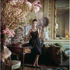 Original Limited Edition Mark Shaw Fashion Photo-Paris 1960   From a unique collection of antique and modern photography at http://www.1stdibs.com/furniture/wall-decorations/photography/