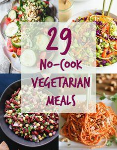 20 no-cook meals