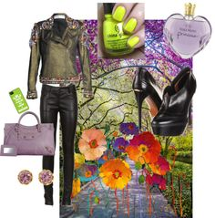 """Pardon My Purple"" by rhinestonesandrouge on Polyvore"