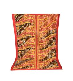 Beautiful Kantha Quilt Fine Hand Stitch Nice Bedding Gudari Reversible Bedspread #Unbranded #AntiqueStyle