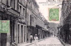 Rue Saint-Louis à Fort de France.