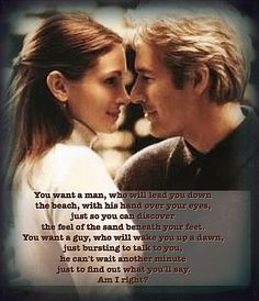 Runaway Bride-Best Moments of Maggie and Ike . Richard Gere, Runaway Bride Quotes, Julia Roberts Quotes, Dating Quotes, Life Quotes, Uplifting Quotes, Inspirational Quotes, Beach Humor, Funny Beach