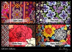 vera bradley fall patterns