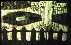 Death quilt or Graveyard quilt, detail. University of Louisville KY.