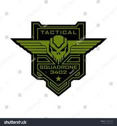 Find Tactical Military Skull Squadron Logo stock images in HD and millions of other royalty-free stock photos, illustrations and vectors in the Shutterstock collection. Badge Design, Logo Design, Special Forces Logo, Harley Davidson Stickers, Sword Logo, Hair Salon Logos, Geometric Font, Military Drawings, Tactical Patches