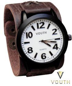 Relógio Bracelete Vouth  Relógio Bracelete de Couro Masculino  Visite nossa FanPage : https://www.facebook.com/Passarella-Brasil-212170078859412/?fref=ts Visite nosso site: www.passarellabrasil.com.br   #passarellabrasil  #relógiovouth  #vouth