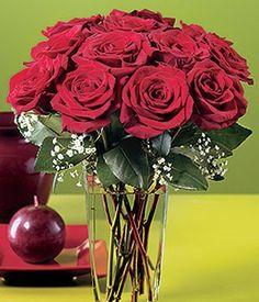 Bouquet of full bloom roses - gratitude Flower Meanings, Glass Vase, Bouquet, Bloom, Gratitude, Flowers, Roses, Home Decor, Decoration Home