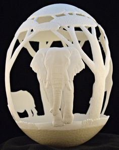 egg art #diy #crafts #wedding www.BlueRainbowDesign.com