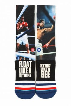 Stance G.O.A.T Muhammad Ali socks Shop www.jackinthesocks.ca