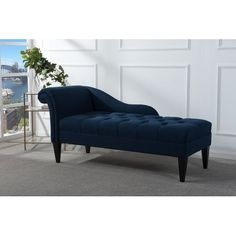 Found it at Wayfair - Jeppesen Tufted Chaise Lounge  sc 1 st  Pinterest : roll arm chaise - Sectionals, Sofas & Couches