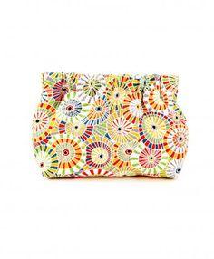 Love it! Pinwheel Print Petite Dumpling Bag