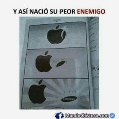 Apple & Samsung # humor-lustig - Technology News Crazy Funny Memes, Really Funny Memes, Stupid Funny Memes, Funny Relatable Memes, Haha Funny, Funny Texts, Hilarious Sayings, Funny Pictures Hilarious, Funny Memes For Him