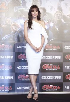 Claudia Kim – 'Avengers: Age Of Ultron' Press Conference in Seoul