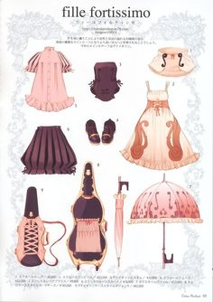 Calanthe and the Nightingale • nugomadi: Lolita Clothes