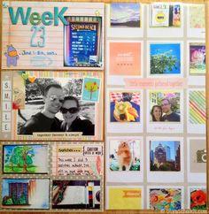 Week 23 ProjectLife 2013 by Olya Schmidt, via Behance