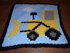 C2c crochet digger square | Craftsy