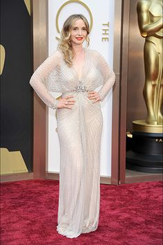 Julie Delpy, in Jenny Packham, with Chopard jewels.