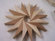Wood Art – Pin Wheels or a new take on the Multi Generation Diamond Lamination Design