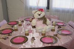"""Cheetah Print Baby Shower Ideas   ... leopard / Baby Shower/Sip & See """"Deneen and Omar's Baby Shower"""