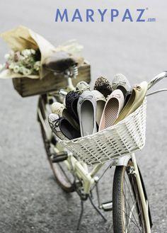 Los Martínez Banco de bicis Alquiler de bicis para eventos publicidad campaña MaryPaz sesiones