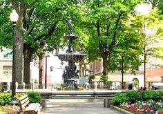 Court Square, downtown Memphis TN