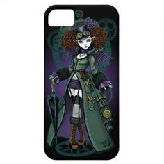Temple Victorian Steampunk Vampire IPhone 5/5S Barely iPhone 5 Cases