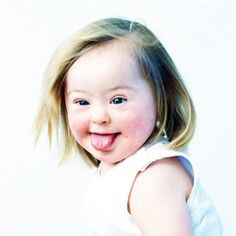 The Upside of Down Syndrome.  (Photo in book 'De Upside van Down' of Eva…