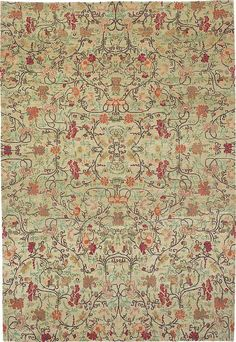 Enchanted Forest Spring Green P-16-366 | Tiger Rug