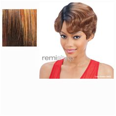 Equal (SNG) In Style Wig Bessie  - Color OM30 - Synthetic (Curling Iron Safe) Regular Wig