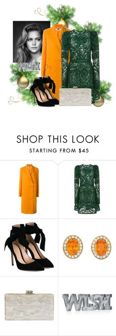 """""""Untitled #796"""" by brandi-gurrola on Polyvore featuring STELLA McCARTNEY, Elie Saab, Gianvito Rossi, Edie Parker and Whimsical Shop"""