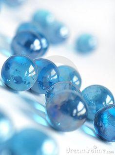Blue Marbles by Dvmsimages , via Dreamstime